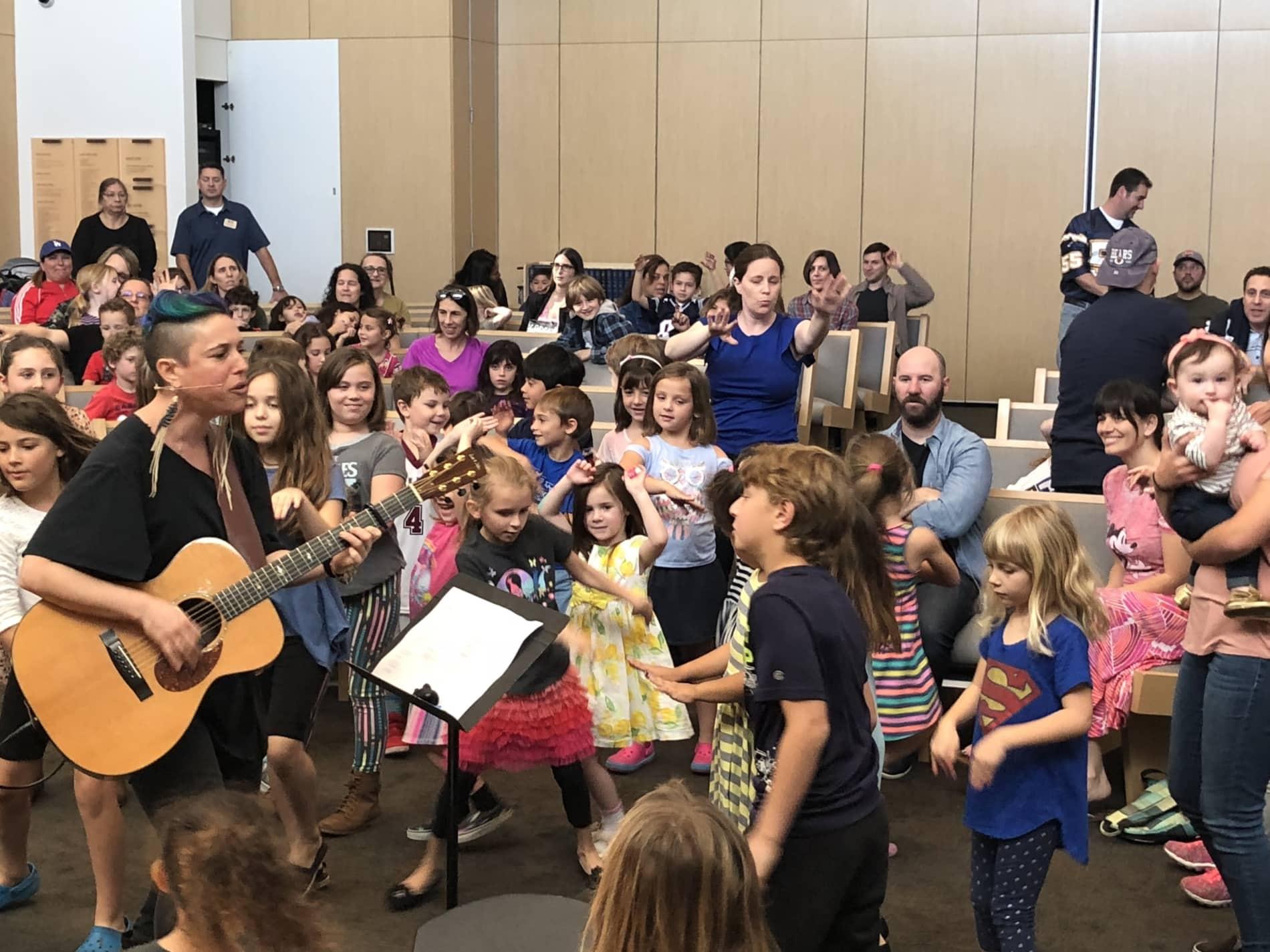 Kids at Concert