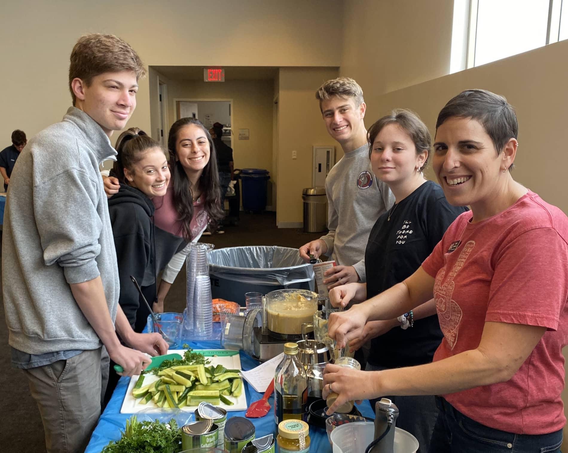 Teens Cooking